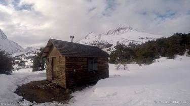 refugio cerro bonete invierno