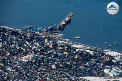 Centro y puerto de Ushuaia