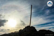 cumbre del cerro cortez reflejo