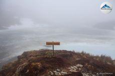 lagunas gemelas niebla
