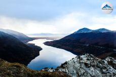 vista lago escondido otoño