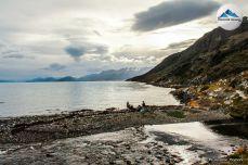 vista a ushuaia desde el rio encajonado2