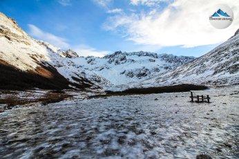 mirador al glaciar martial